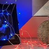 Lichterkette Batterie mit Farbwechsel und 40 LEDs