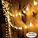 LED Lichterkette 10 Meter Flackerlicht Halloween