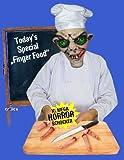 Abgeschnittene Finger Halloween Deko für die Mottoparty - 2
