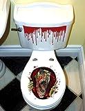 Zombie Toilettendeckel Aufkleber für Halloween Party - 2