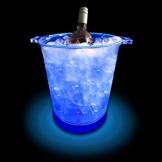 Leuchtender LED Eiswürfelbehälter - Ice Blue Eiseimer