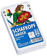Schafkopf/Tarock/Skat Kartendeck mit bayerischem Bild - 36 Blatt