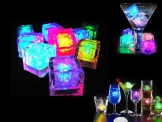 12 langsam blinkenden LED Eiswürfel