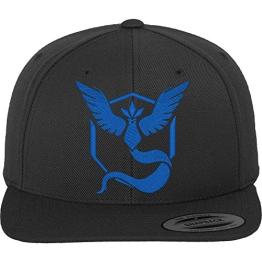 team blau mütze pokemon go