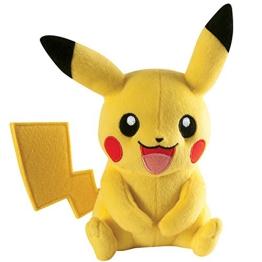 Pokemon Pikachu Plüsch 20 cm schwarz