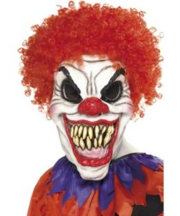 Clown Maske als Verkleidung für Halloween
