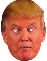 donald trump maske pappe